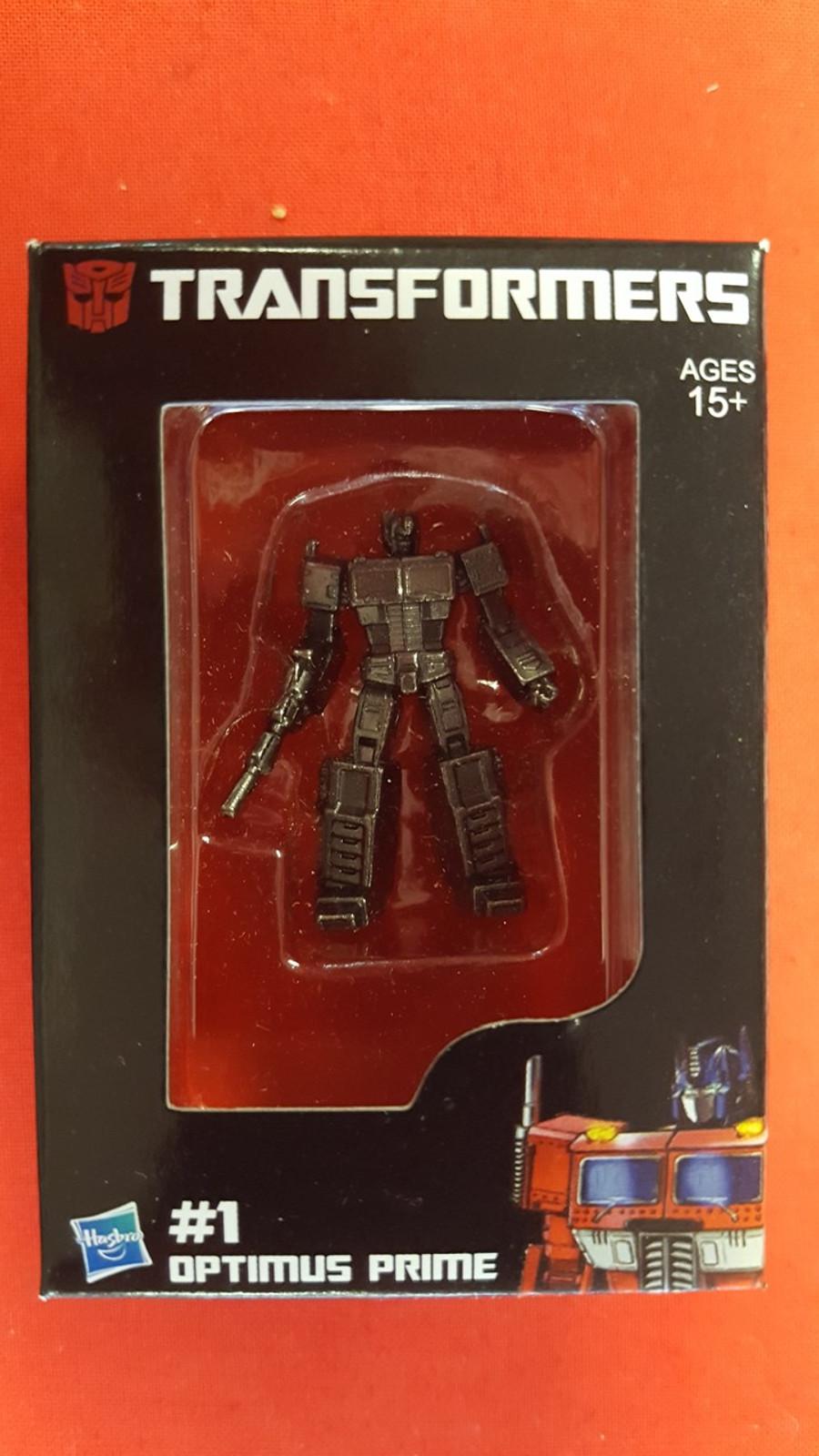 Masterpiece Inferno Promo Item: Diecast Optimus Prime