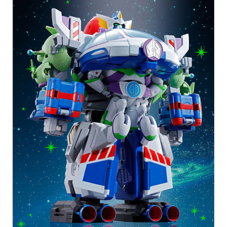 Bandai - Toy Story Combination Buzz The Space Ranger Robo