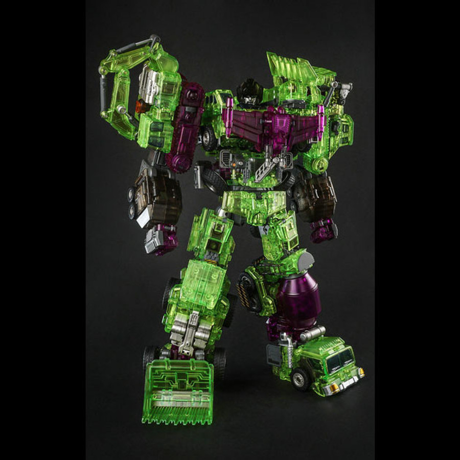 Generation Toy - Gravity Builder - GT-01GS Green Shadow - Set of 6