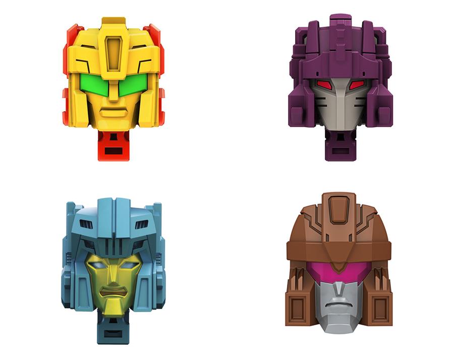 Transformers Generations - Titan Masters Wave 4 - Set of 4