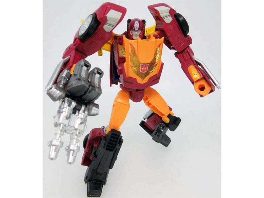 Takara Transformers Legends - LG45 Target Master Hot Rodimus