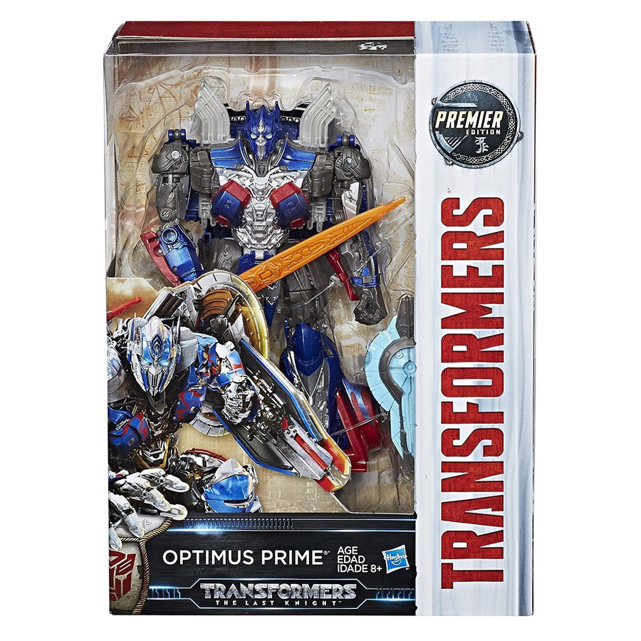 Transformers The Last Knight - Premier Edition Voyager Optimus Prime (Hasbro)
