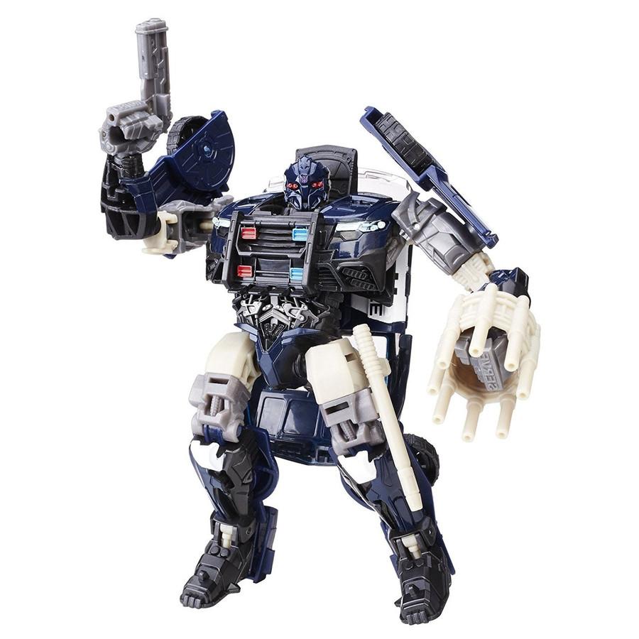 Transformers The Last Knight - Premier Edition Deluxe Barricade (Hasbro)