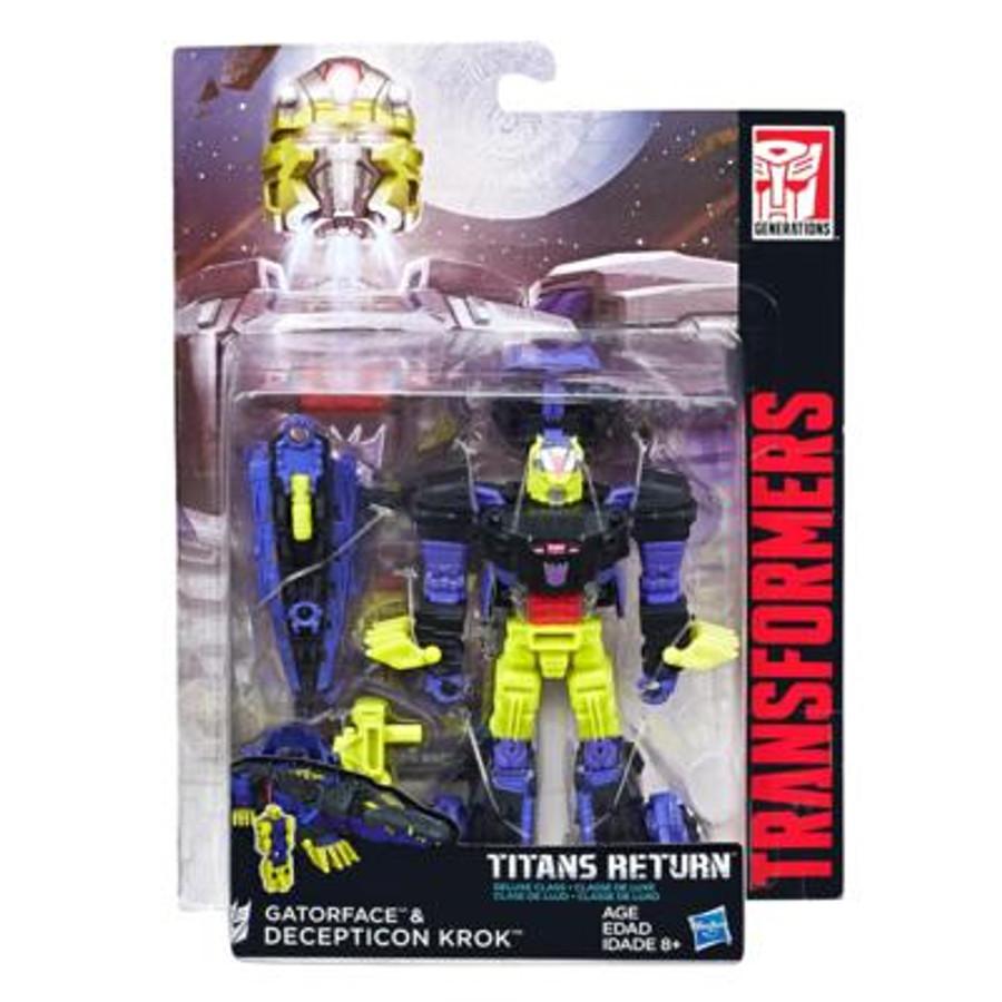 Transformers Generations Titans Return - Deluxe Wave 4 - Krok