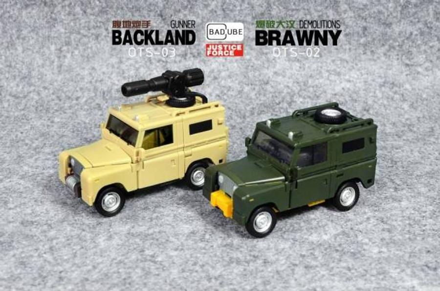 BadCube OTS-02 Brawny - Reissue