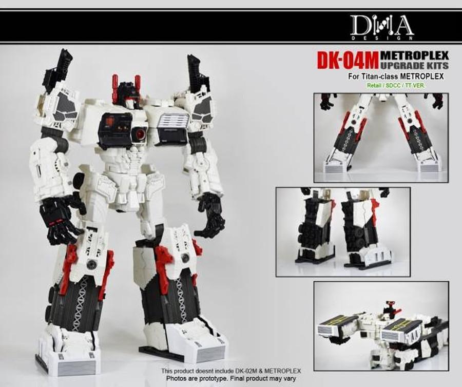 DNA Design - DK-04M Metroplex Foot Upgrade Kit