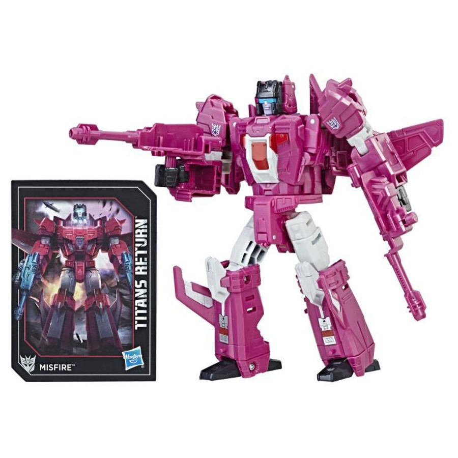 Transformers Generations Titans Return - Deluxe Wave 5 - Set of 3