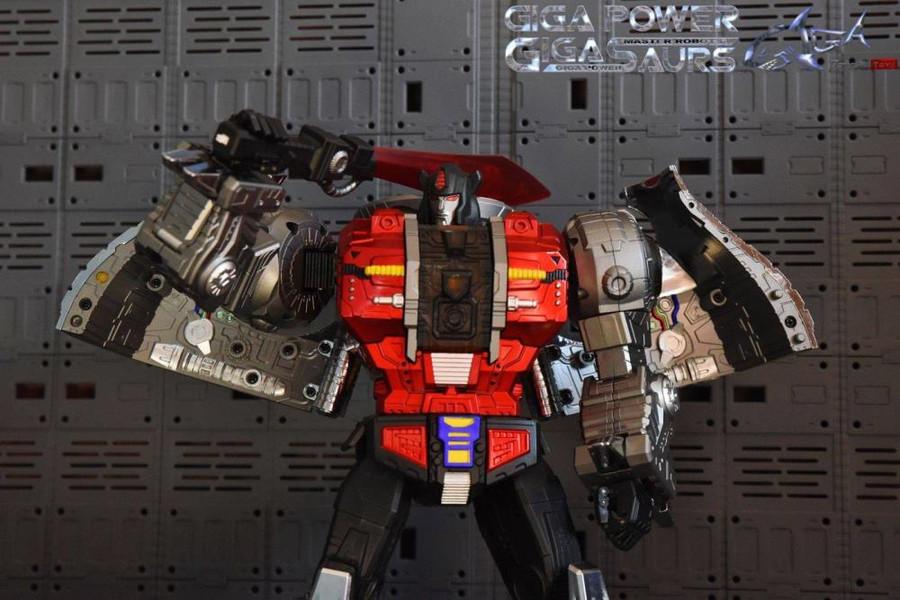 Giga Power - Gigasaurs - HQ04R Graviter - Chrome