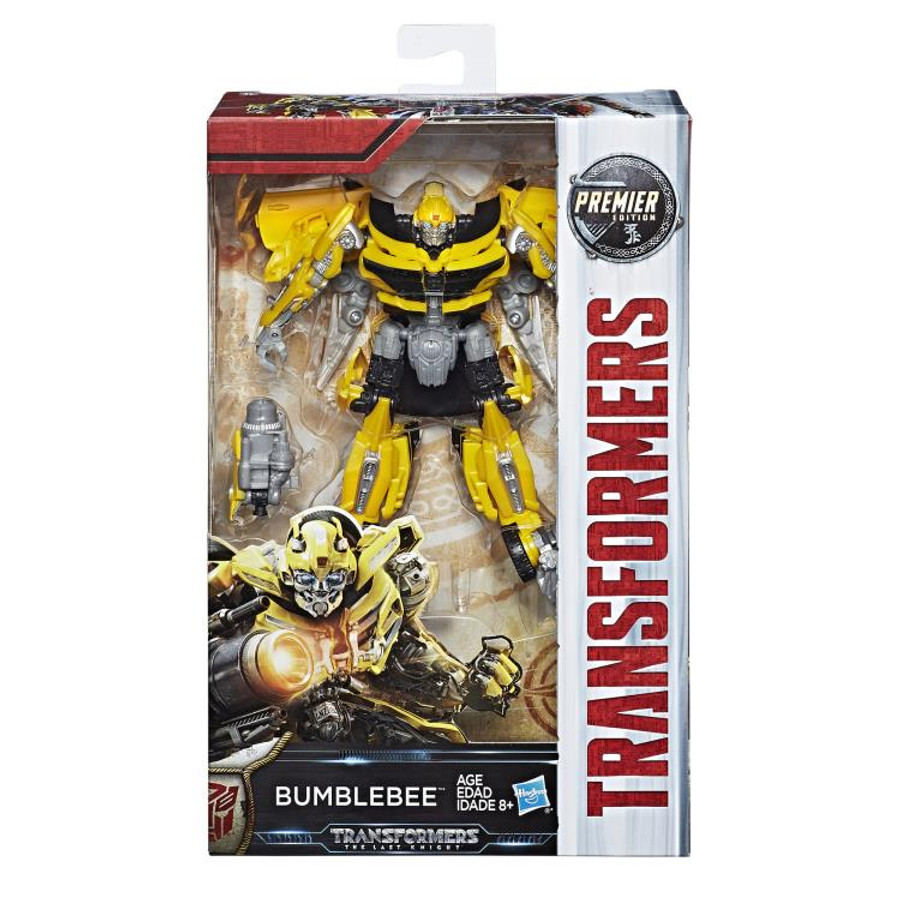 Transformers The Last Knight - Premier Edition Deluxe Wave 3 - Set of 4