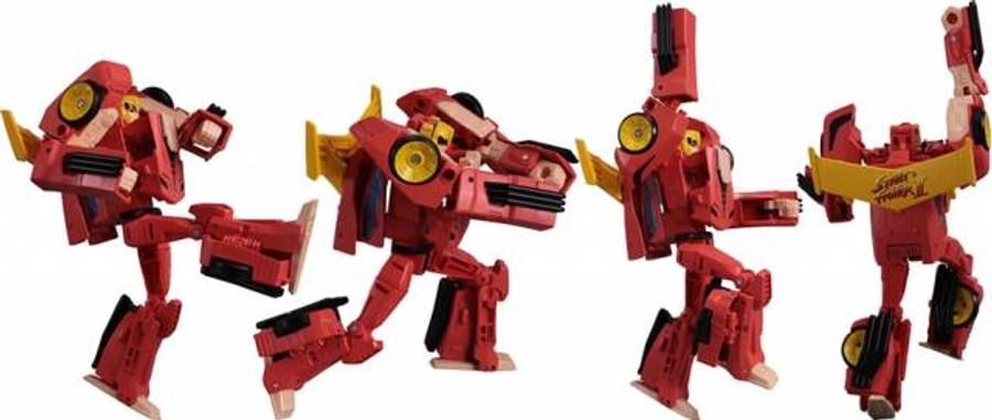 Transformers X Street Fighter II - Ken vs Chun-Li