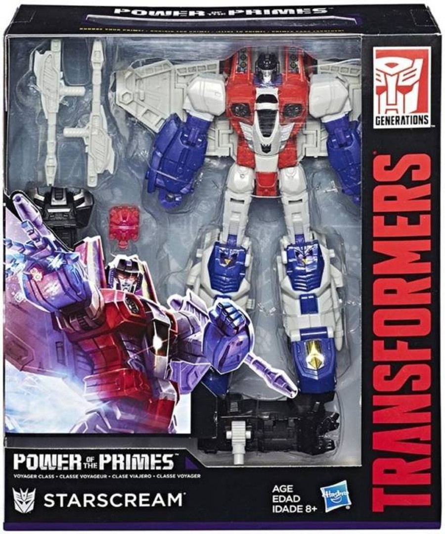 Transformers Generations Power of The Primes - Voyager Wave 1 - Set of 2