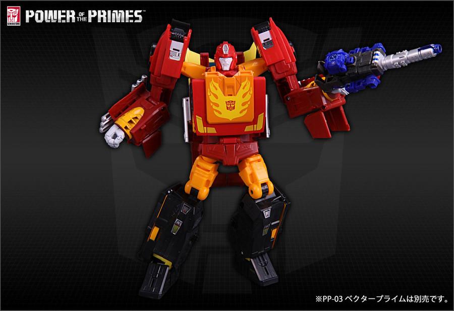 Takara Power of Prime - PP-08 Rodimus Prime