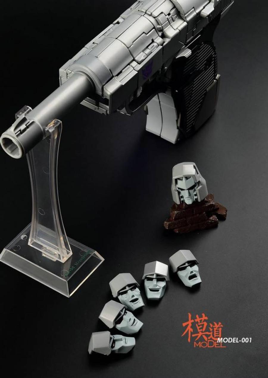MoDel - Model-001 MP-36 Megatron Light-Up Head Upgrade Kit