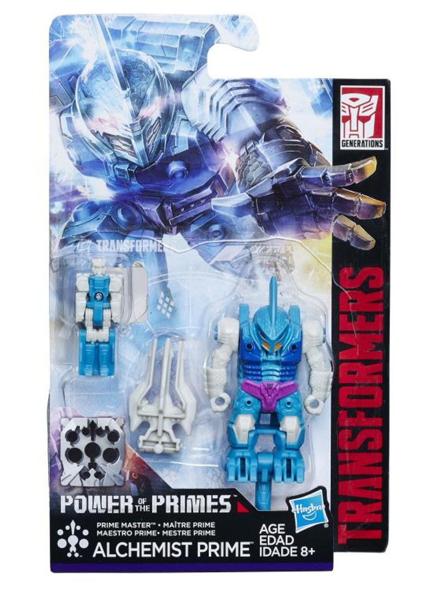 Transformers Generations Power of The Primes - Prime Masters Wave 2 - Set of 2