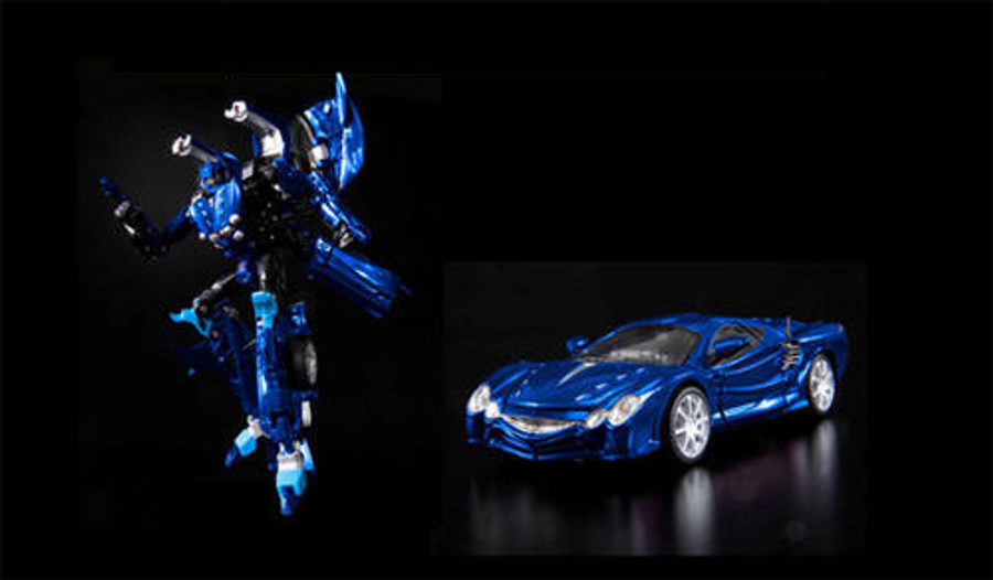 Alternity A-04 Okamora Orochi - Thundercracker Blue