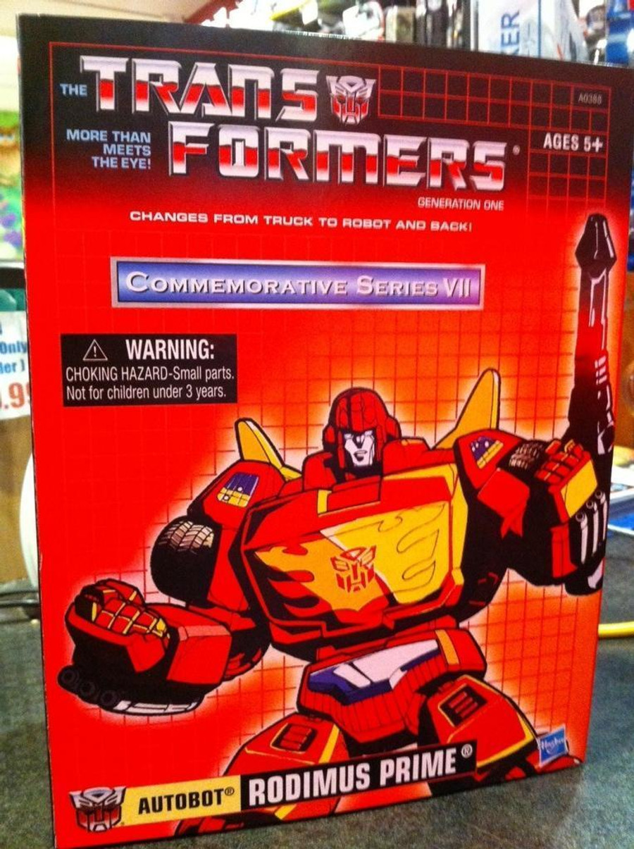 Commerative Rodimus Prime