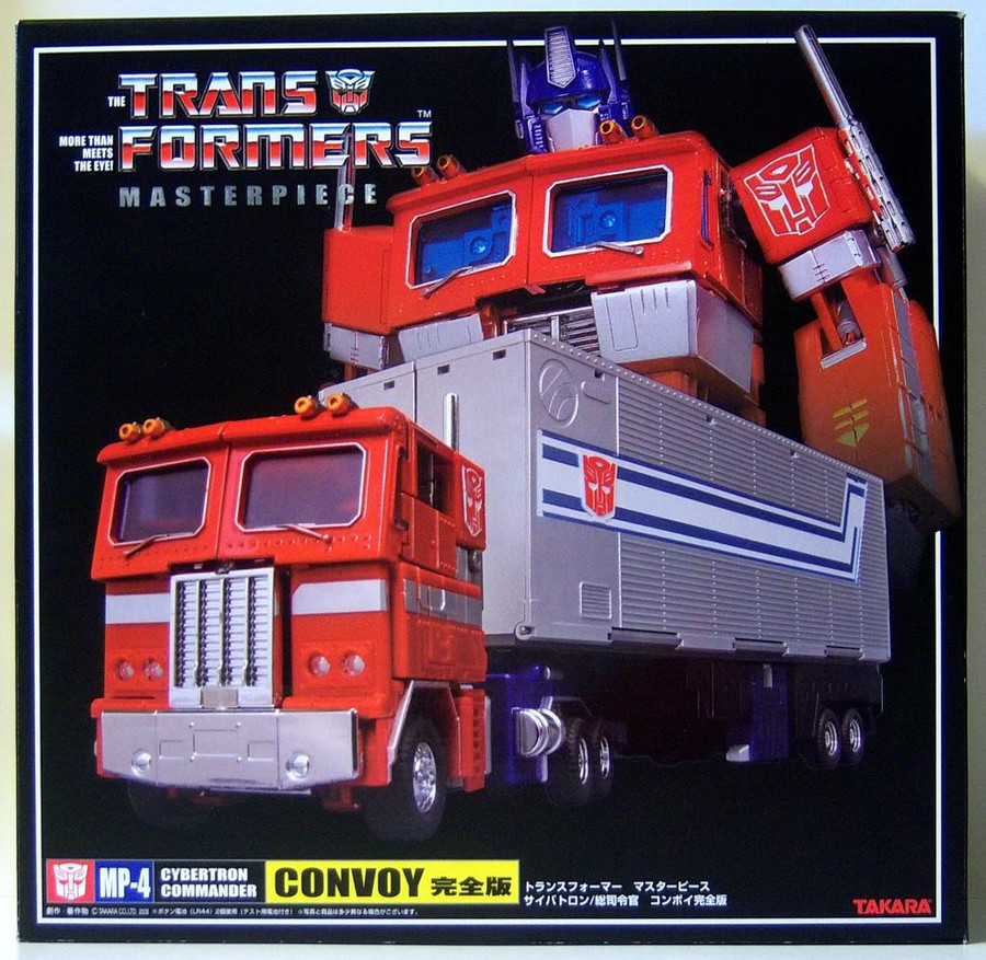 MP-04 Masterpiece Optimus Prime Convoy (Includes Trailer)