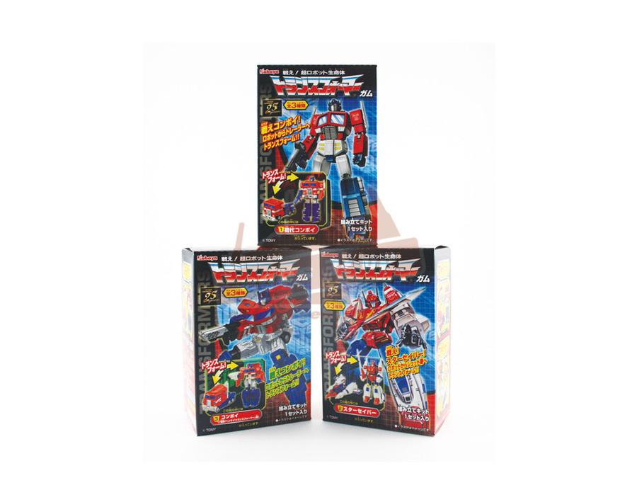 Transformers Gashapon (Capsule Toys) - Set of 8