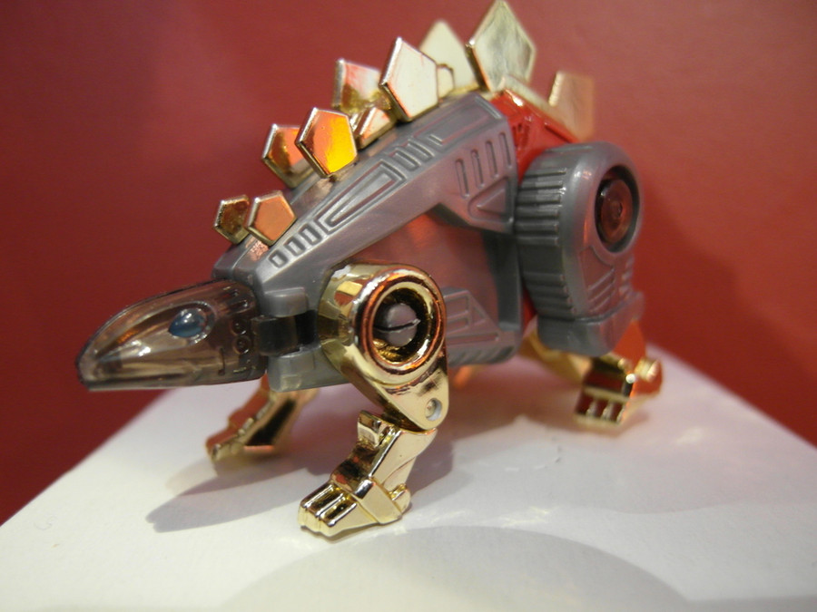World's Smallest Dinorobots - Desert Warrior Snarl