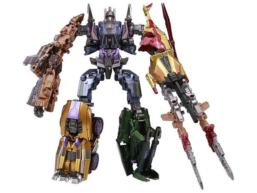 Fall of Cybertron Bruticus Set of 5 (Takara)