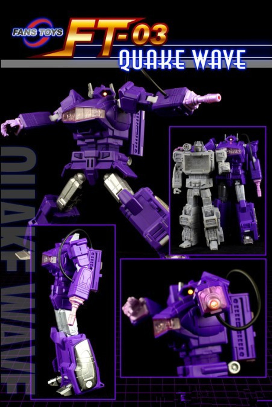 Fans Toys FT-03 Quakewave