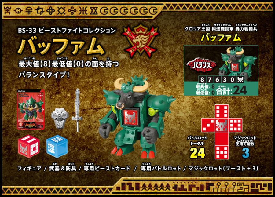 BS-33 - Beast Fight Collection Pafamu