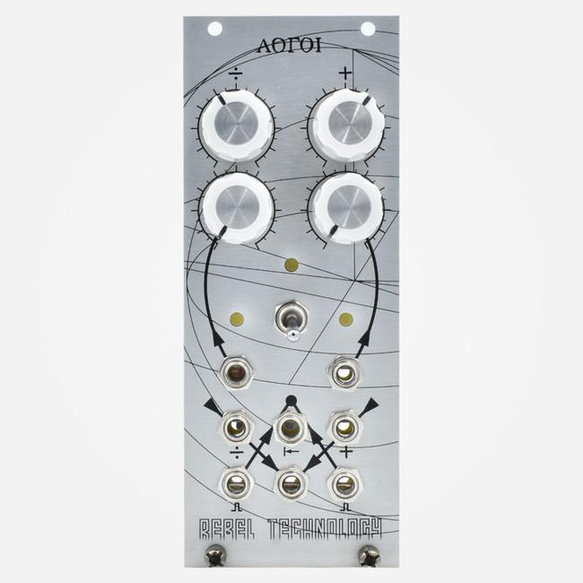 Rebel Technologies LOGOI Eurorack VC Clock Divider and Gate Delay Module
