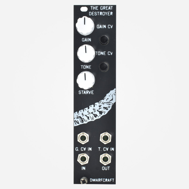 Dwarfcraft Devices THE GREAT DESTROYER 2017 Eurorack Fuzz Module