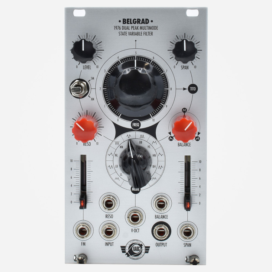 Xaoc Devices Belgrad State Variable Filter Eurorack Module