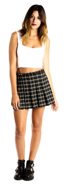 Madison Pleated Skirt