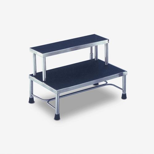 ST-8400  Stainless Steel 2-Step Footstool