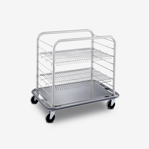 CC-1600 Stainless Steel Case Cart