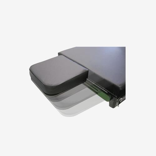 NH-5200 SLIDING NARROW HEADREST Fits Skytron Tables