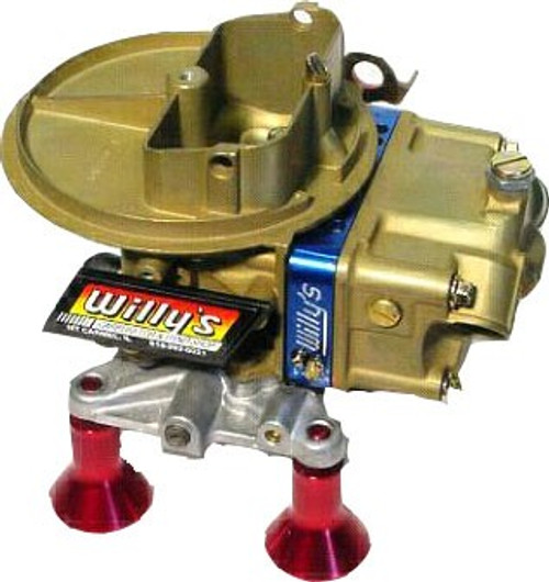 Willy's 500 CFM Alky Carb w/ ext adj block & Ext Bowls