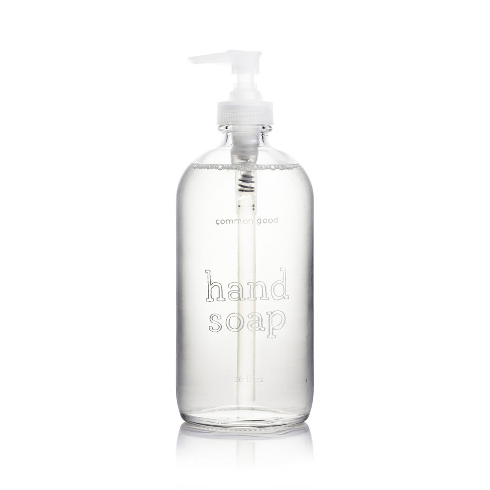 Hand Soap Glass Bottle