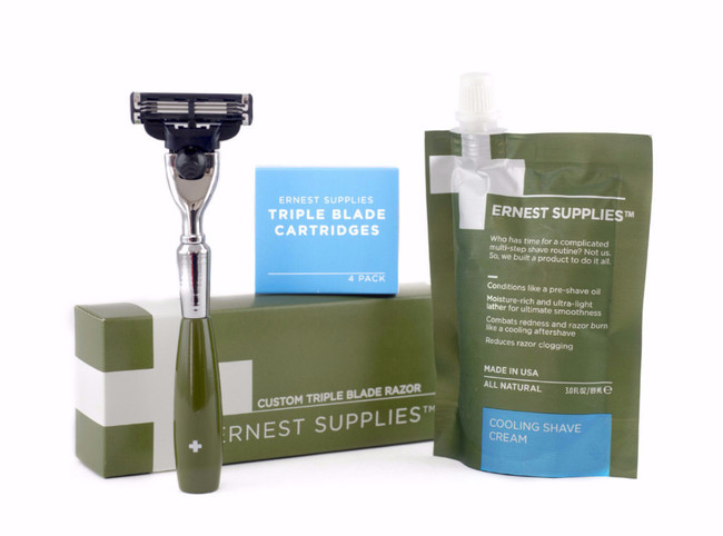 Ernest Supplies Shaving Box Set