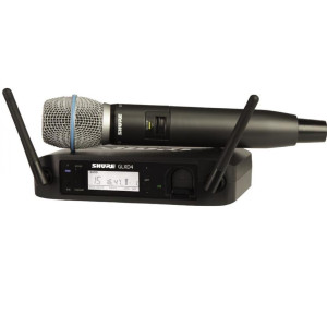 Shure	GLXD24/B87A	 Wireless System with Beta87A Capsule