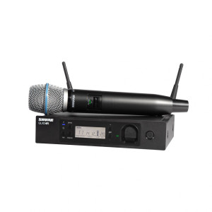 Shure GLXD24R/B87A Rack-mountable Handheld Wireless System
