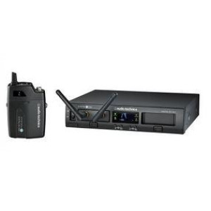 Audio-Technica ATW1301 System 10 PRO Rackmount Digital Wireless Bodypack System with ATW-T1001 Bodypack Transmitter