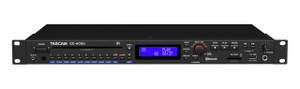 Tascam	 CD400U 1RU CD/Media Player with Bluetooth®, SD, USB, AM/FM Playback