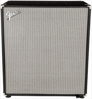 "Fender Rumble 410 Cabinet 4x 10"" Bass Speaker Cabinet, 1,000W Program, 500W Continuous at 8 Ohms"