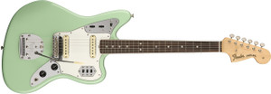 Fender American Original '60s Jaguar Electric Guitar with Rosewood Fingerboard-Surf Green