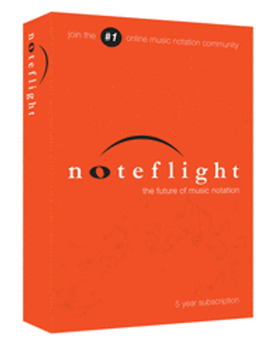 Noteflight 5-Year Subscription (Retail Box)  For Composers and Arrangers
