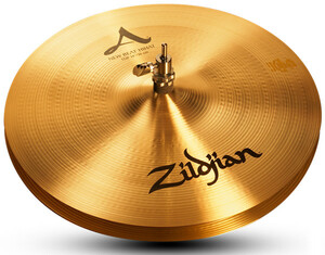 "A Zildjian 14"" new Beat hihats"