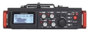 Tascam DR701D Linear PCM Recorder / Mixer For DSLR Camera