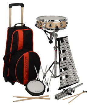 Ludwig LE2483RBR Educational Drum/Bells Combo Kits