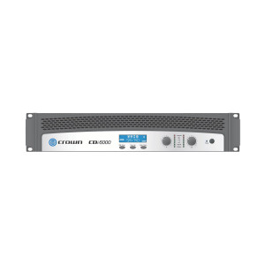 Crown CDi6000 Dual Channel Power Amplifier