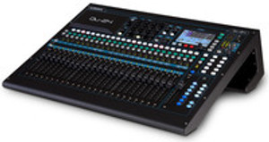 Allen & Heath Qu24 30-Input / 24-Output Digital Mixer with Motorized Faders and Touchscreen