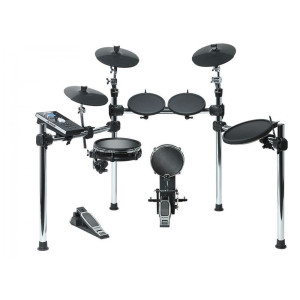 Alesis Command Kit Eight-Piece Electronic Drum Kit with Mesh Snare and Mesh Kick