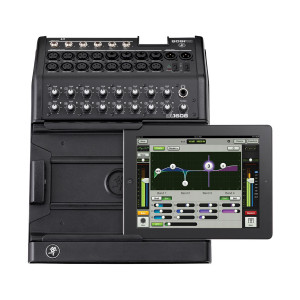 Mackie DL1608 16-Channel Digital Live Sound Mixer for iPad with Lightning Connector